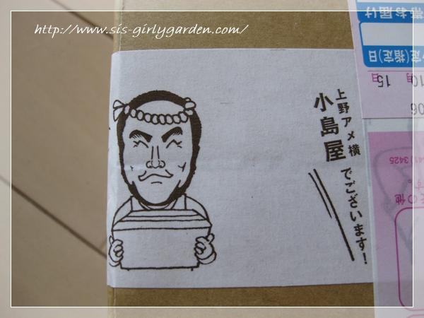 小島屋 ドライフルーツ専門店 包装用テープ4